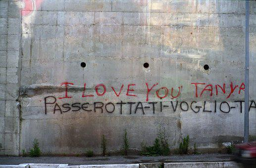 Street, Travel, Inscription, Love, Tanya