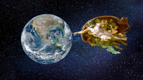 Universe, All, Globe, The Creation Of The Earth