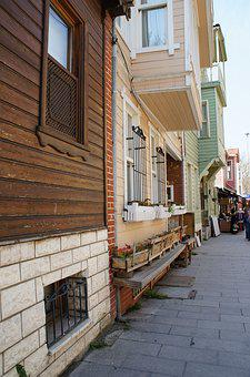 Kuzguncuk, Istanbul, Traditional, Old, Turkish