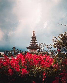 Bedugul, Bali, Indonesia, Travel, Asia, Temple, Pura