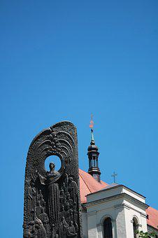 Church, Monument, Taras Shevchenko, Cross, Sky, Ukraine