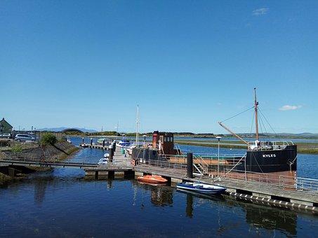 Harbour, Boat, Dock, Cargo, Vessel, Transportation