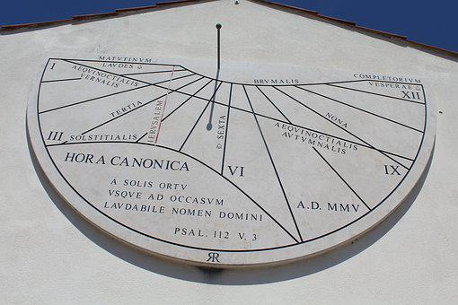 Sundial, Time, Watch, Winter Time, Sun, Solar, Shadow