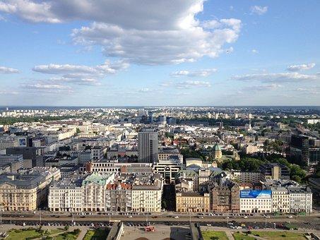 City, Panorama, Architecture, View, Poland, Landscape