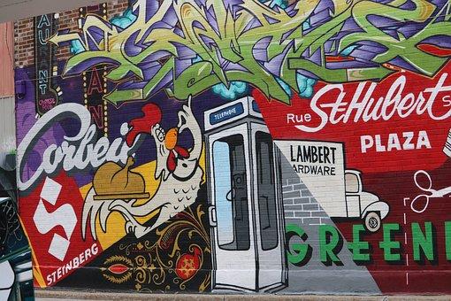 Street Art, Art, Street, Graffiti, Wall, Artistic