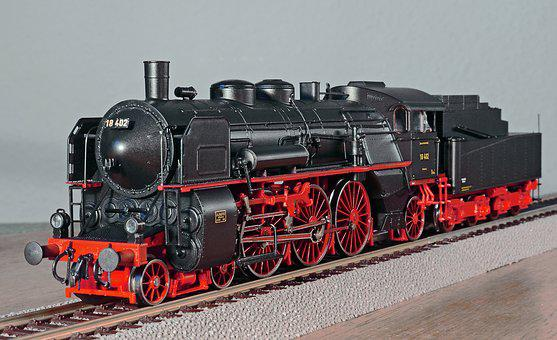 Steam Locomotive, Model, Scale H0, Bavaria