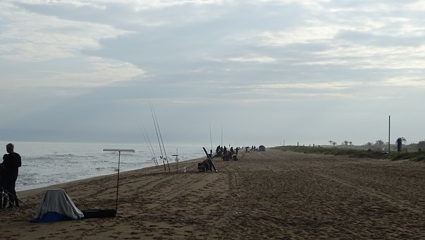Fishing Contest, Beach