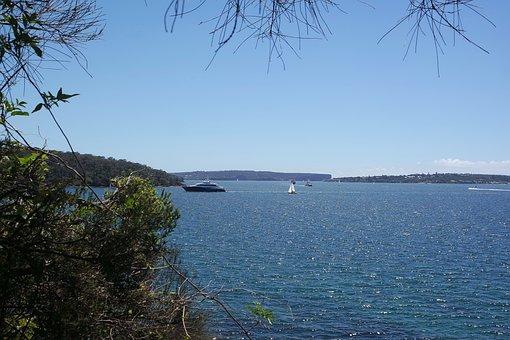 Ocean, Blue, Water, Sea, Landscape, Seascape, Tranquil