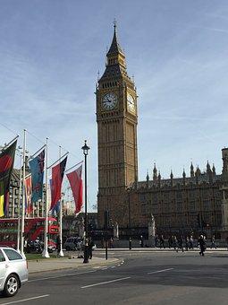 England, London, Big Ben, British, Uk, Landmark