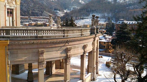 San Pellegrino Terme, Casino, Terme, Alpine Landscape