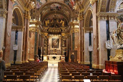 Malta, Church, Christian, Europe, Mediterranean
