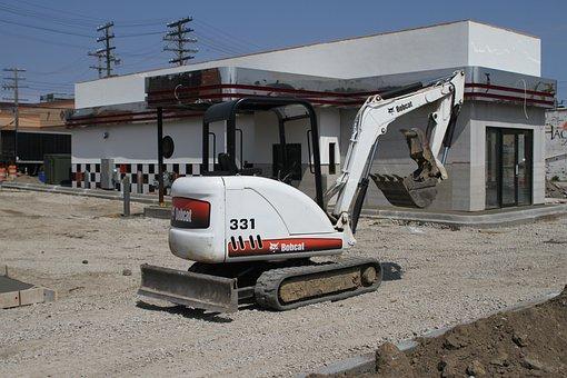 Construction Equipment, Cat, Work, Industry, Machine