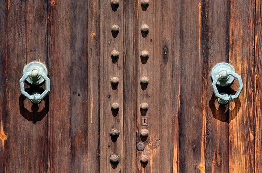 Door, Wood, Old, Close, Door Handle, Historically
