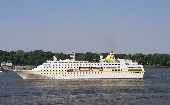 Mshamburg, Cruise Ship, Hamburg, Elbe