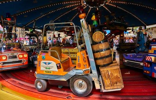 Carousel, Year Market, Fair, Fairground, Fun, Pleasure
