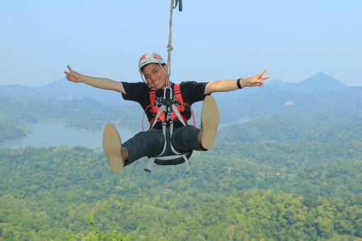 Flying Fox, High, Adrenalin