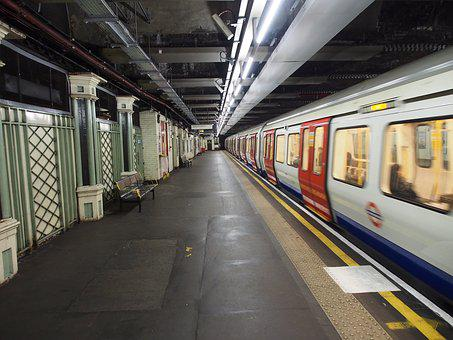 London Underground, Subway Station, Metro, Underground