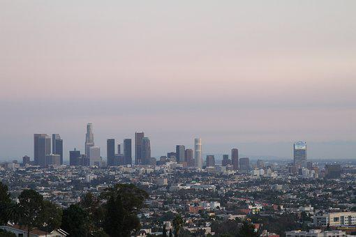 City, Los Angeles, Los, Angeles, Los Angeles Skyline