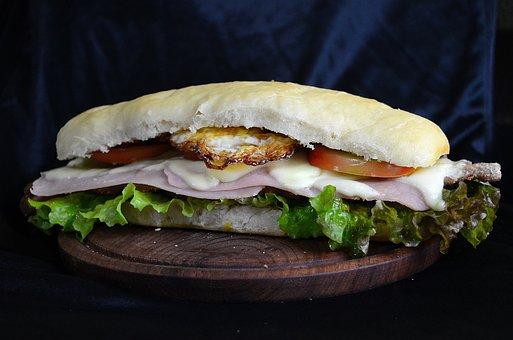 Sandwich, Food, Dish, Lunch, Gastronomy