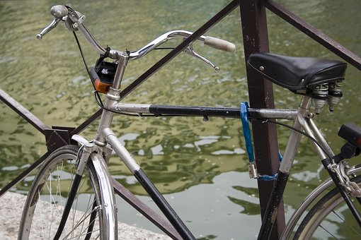 Bike, Biking, Naviglio, Milan, Bicycle, City