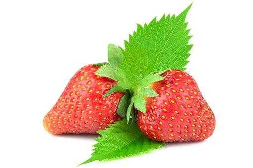 Ripe Strawberries, Strawberry, Fruit, Strawberries