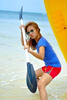 Beach, Sea, Ocean, Sand, Travel, Surf, Sunshine, Day