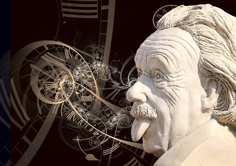 Einstein, Science, Sculpture