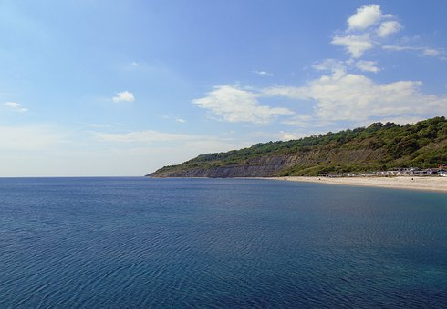 Coastline, Jurassic, Coast, England, Sea, Ocean, Dorset