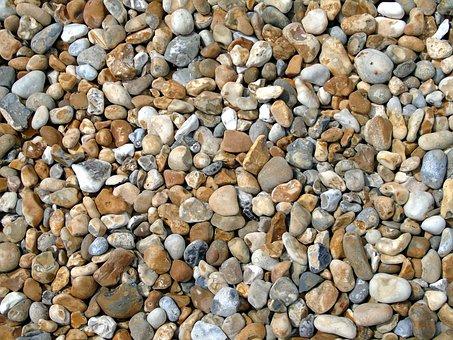 Pebbles, Seashore, Beach, Nature, Stone, Natural, Ocean