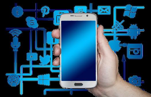 Smartphone, Hand, Leave, Internet, Network, Social