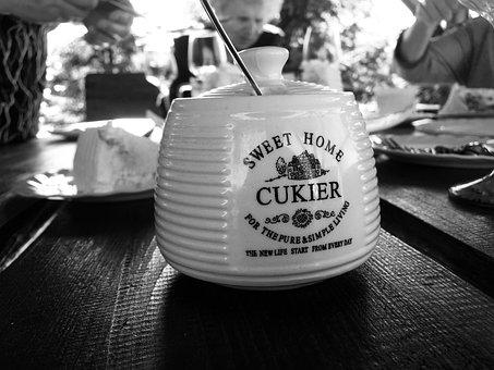 Sugar, Home, Coffee, Sugar Bowl, Cutlery