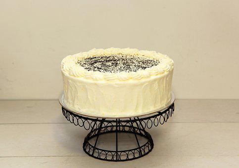 Cake, White, Chocolate Cake, Sweet, Food, Dessert