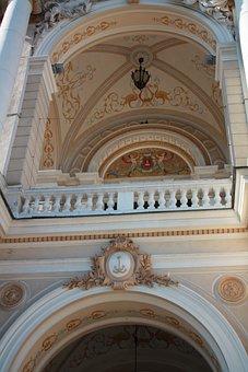 The Opera House, Balcony, Ukraine, Odessa, City Centre
