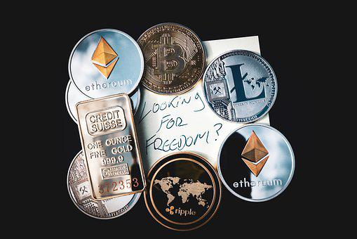 Cryptocurrency, Concept, Blockchain, Money, Bitcoin