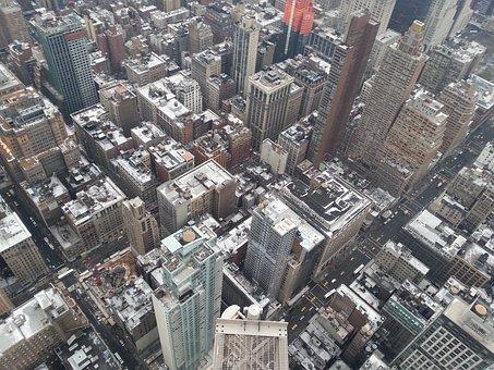 New York, Bridge, Manhattan, Usa, America