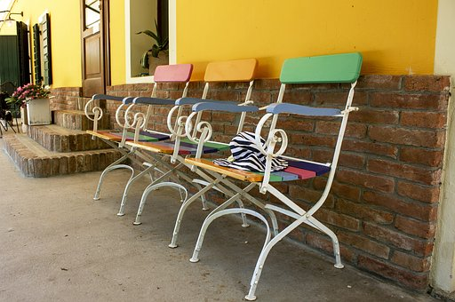 Chairs, Colorful, Exterior, Garden, Chair, Relaxation