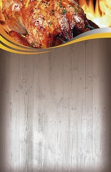 Background, Menu, Chicken, Letter, Restaurant, Text