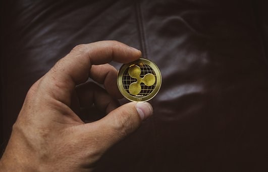Cryptocurrency, Concept, Ripple, Currency