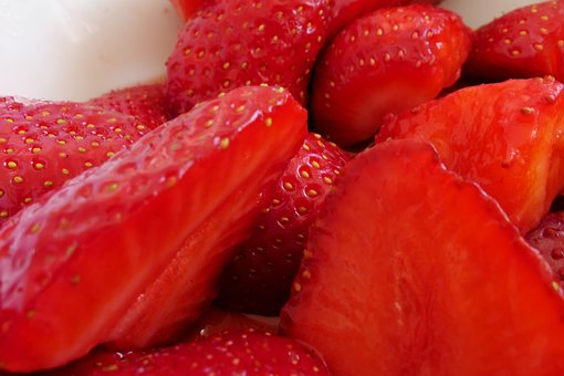 Strawberry, Fruit, Dessert, Food, Berry, Juicy, Healthy