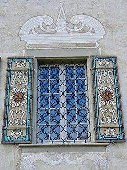 Window, Decoration, Ironwork, Design, Ornamental