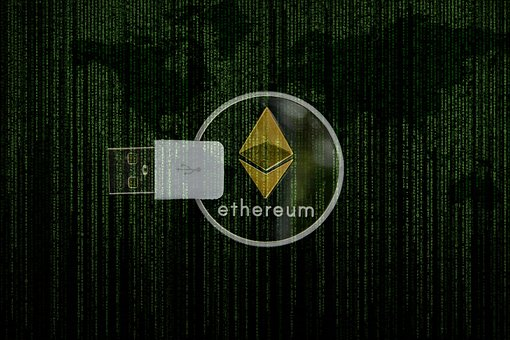 Cryptocurrency, Ethereum, Matrix, Digital, Ledger, Usb