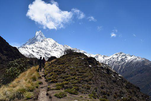 Mountains, Trekking, Nepal, Trek, Nature, Adventure