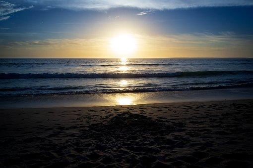 Sunset, Beach, Ocean, Sea, Beach Sunset, Water, Sky