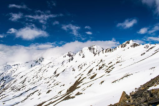 Alps, Snow, Heaven, May, Spring, Height, The Peaks