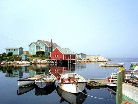 Canada, Holiday, Travel, Nature, Tourism, Sea, Boats
