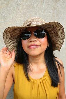 Hat, Fashion, Headwear, Fashionable, Woman, Sun Hat