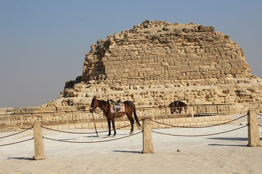 Khufu, Pyramid, Ancient, Giza, Egypt, Cairo, Desert