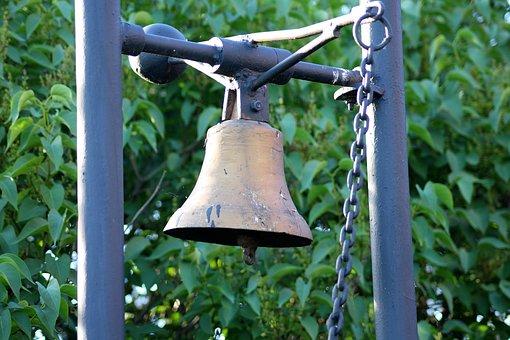 Bell, The Bell Tower, Brass Bell, Metal, Clapper