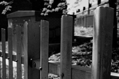 Iron, Blocks, Building, Close Up Shot, Grass, Trees