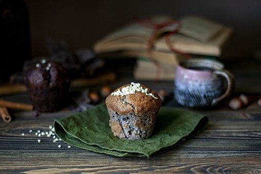 Muffin, Food, Cake, Sweet, Dessert, Bakery, Snack